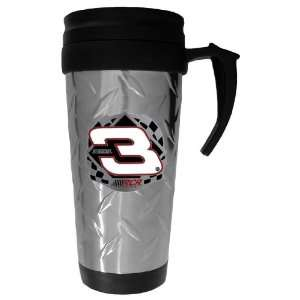 03 DALE EARNHARDT SR Diamond Plate Travel Mug   NASCAR NASCAR   Fan
