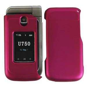 Rubberized Hot Pink Hard Protector Case For Samsung Zeal
