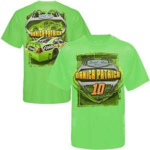 Chase Authentics Danica Patrick Chassis T Shirt   Green