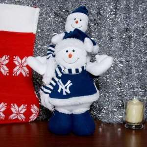 New York Yankees Two Snow Buddies Table Top Sports