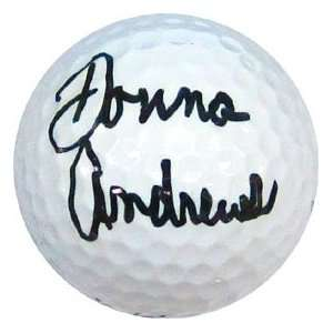 Dona Andrews Autographed / Signed Golf Ball Sports