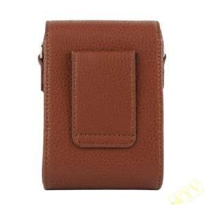 Protective Pu Leather Bag Waterproof with Magnetic Flip Digital Camera