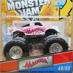 Wheels Monster Jam #48 MADUSA PINK Cancer Awareness Ribbon New