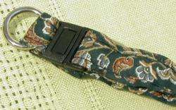 NEW Pet COLLAR Kitty/CAT Sm DOG Green PAISLEY