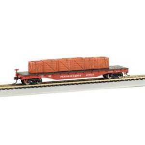 Bachmann Trains Pennsylvania Railroad Flat Car With