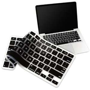 Black KeyBoard Cover Skin for MacBook Pro 13 15 17