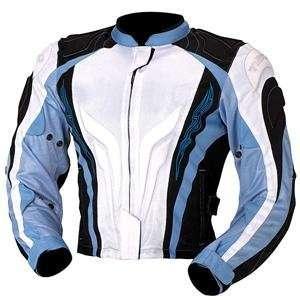 Teknic Womens Supervent Jacket   14/White/Blue/Black Automotive