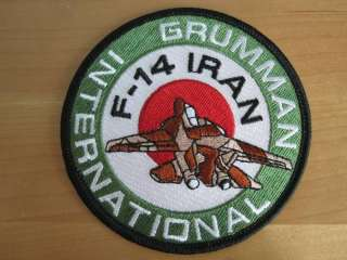 Patch.Iran. Air Force F 14 TOMCAT Grumman International |