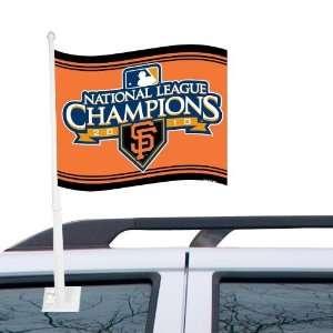 San Francisco Giants 11 x 14 2010 NLCS Champions Car
