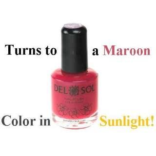 Del Sol ♔ Color Changing Nail Polish ♔ Prima Donna ♔