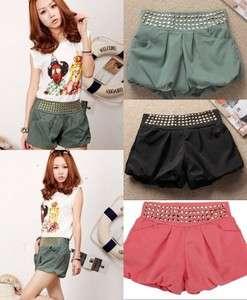 Middle Waist Jeruk Skirt Pants Prevent Exposed Shorts Hot Pants #1016