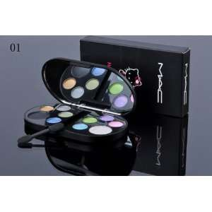 MAC 10 Color Hello Kitty Eye Shadow Color#1 Everything
