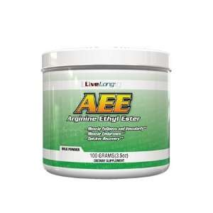 LiveLong Arginine Ethyl Ester (AEE) 100g Health