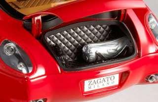 Hot Wheels Super Elite Diecast Model 118 Ferrari 575 GTZ Zagato Red