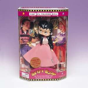 New Betty Boop Talking Doll Pink Poodle Skirt Fab 50s Toys & Games