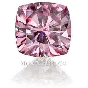 Certified 2.5ct FANCY PINK MOISSANITE DIAMOND LOOSE