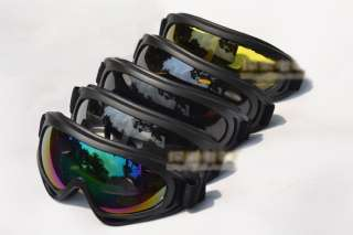 Outdoor Snowmobile Motorcycle Off Road Ski Goggle Glasses Eyewear Lens