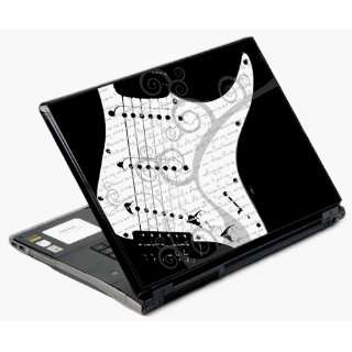 14 and 15 Universal Laptop Skin Decal Cover   Guitar