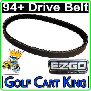 EZGO Medalist and TXT Golf Cart Clutch Drive Belt 94+
