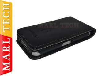 Leather Flip Case Cover Wallet Pouch For iPhone 4S 4 Screen Protector