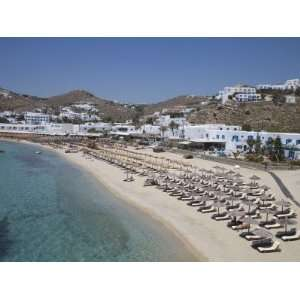Beach of Platys Gyalis, Mykonos, Cyclades, Greek Islands