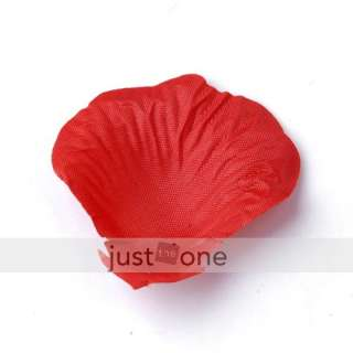 Wedding Party Decoration favours Artificial Rose Flower Petals
