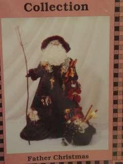 PATTERN 24 VICTORIAN SANTA FATHER CHRISTMAS
