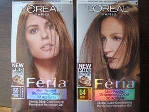 LOREAL FERIA Multi Faceted Shimmering Colour 59 and 64