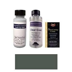 2 Oz. Pewter Gray Metallic Paint Bottle Kit for 1991 Acura