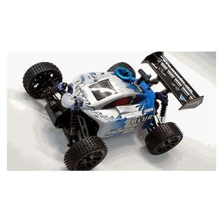 RC Nitro Gas 1/16Th Scale Off Road Blur Buggy Max Blue Toys & Games