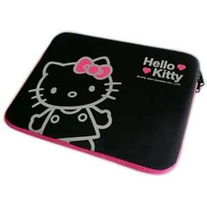 Auth Sanrio Hello Kitty Laptop Notebook Bag 14 Black Electronics