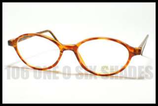 VINTAGE 50s Small Size Oval Shaped Eyeglass Frame Optical Glasses