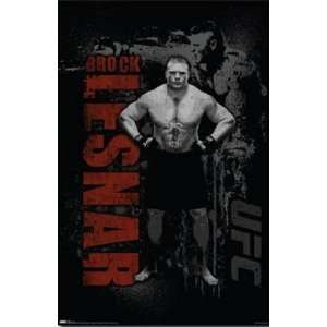UFC   Brock Lesnar by Unknown 22x34