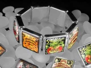 Beacon the Spirits Ouija Board Vintage Horror Halloween Charm Bracelet
