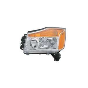 2008 2009 Nissan Titan CCFL Halo Projector Headlights /w Amber & LED
