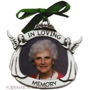 In Loving Memory Memorial Ornament: Home & Kitchen