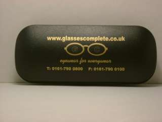 NEW Black Hard Spectacle glasses case cleaning cloth