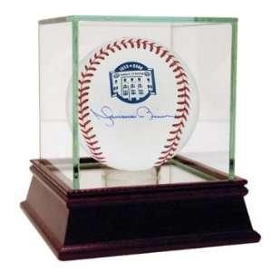 Mariano Rivera Signed Ball   Yankee Stadium Final Season