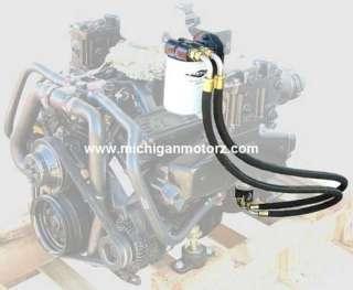 REMOTE OIL FILTER KIT   MerCruiser 5.0L, 5.7L   MP 380004