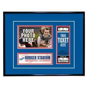 Los Angeles Dodgers Game Day Ticket Frame  Sports