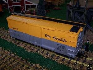 LGB G SCALE BOX CAR DENVER & RIO GRAND 4067 D 01