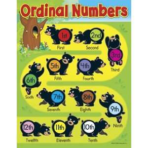LEARNING CHARTS ORDINAL NUMBERS: Toys & Games