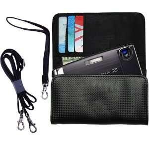 Black Purse Hand Bag Case for the Fujifilm FinePix Z10