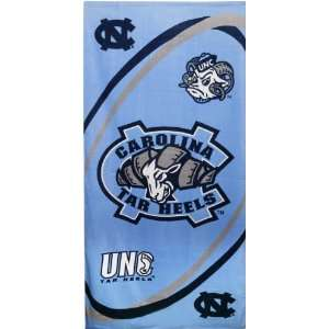 North Carolina Tar Heels NCAA Beach/Bath 30X60 Towel