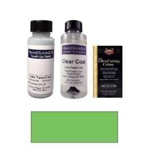 Oz. Green Pearl Metallic Paint Bottle Kit for 1997 Toyota Starlet