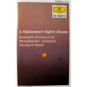 Midsummer Nights Dream: Nicolai & Weber: Music