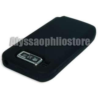 Black Silicone Case Skin Cover Protector Nokia E72