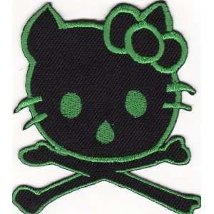 Hello Kitty Embroidered Iron on Patch H24 Arts, Crafts