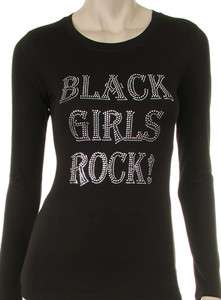 BLACK GIRLS ROCK Rhinestone Shirt