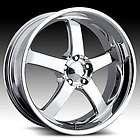 20 x8.5 Boss 335 3356 Chrome Wheels Rims 5 Lug